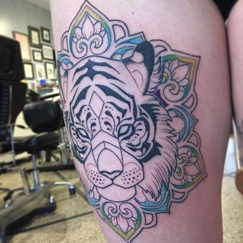 47ed7b6b5 coolTop Geometric Tattoo - 2017 trend Geometric Tattoo - Instagram photo by  Alex Gregory • Apr 7, 2016 at.