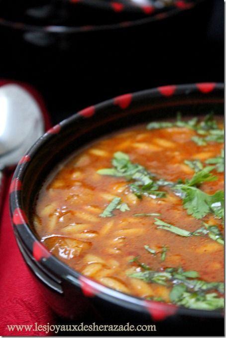 chorba algerienne, cuisine algerienne