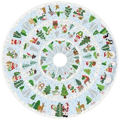 Anandas Divine Designs Secrets Of Embroidery Snowman Christmas Tree Skirt Machine Embroidery Christmas Snowman Christmas Tree Vintage Christmas Tree Skirt