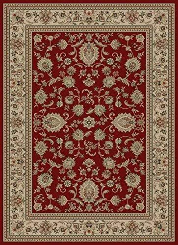 Reds Red Ivory Persien Border 8x11 Area Rug Oriental Carpet Actual 7 10 Quot X 10 3 Quot In 2020 9x12 Area Rugs Oriental Carpets Rugs