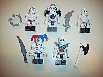 Lego Ninjago Krazi Skeleton Minifure  new minifig