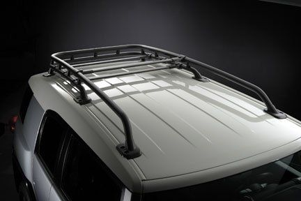 Toyota FJ Cruiser OEM Style Black Roof Rack: Fits 2007, 2008, 2009, 2010, 2011, 2012, 2013 and 2014 FJ Cruiser