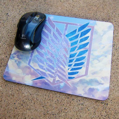 Survey Corp (Attack On Titan) Minimalist Style Mouse Pad