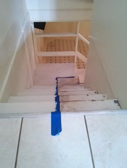 How To Paint Basement Stairs The, Easiest Way To Paint Basement Stairwell