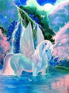 90 Best Unicorns Wings Images Unicorn Art Mythical Creatures Fantasy Horses