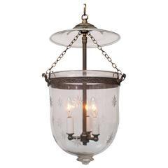 Mercury Glass Bell Jar Hurricane Lantern With Images Glass
