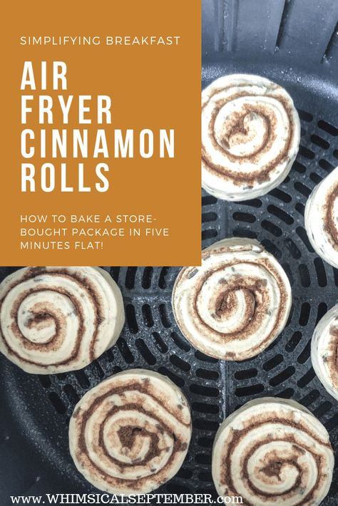 Air Fryer Cinnamon Rolls: a quick and easy tutorial - . - Air Fryer Cinnamon Rolls: a quick and easy tutorial – … – Air Frye - Air Fryer Recipes Breakfast, Air Fryer Oven Recipes, Air Frier Recipes, Air Fryer Dinner Recipes, Airfryer Breakfast Recipes, Breakfast Cooking, Recipes Dinner, Pillsbury Cinnamon Rolls, Pillsbury Recipes