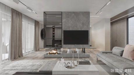 Inspiring Residence by KHANI design | Mur | Salon, Déco ...