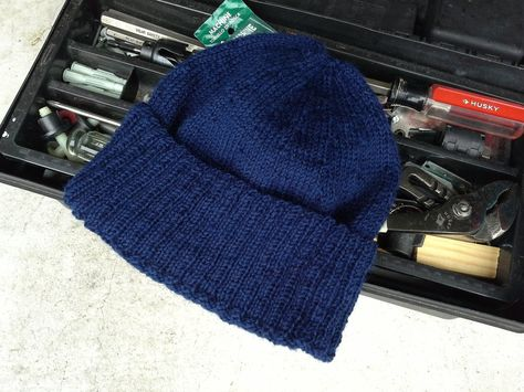 Men s Navy Watch Cap - Hand Knit in Blue for Sailing Hiking Biking  Snowboarding Jogging Hat Skully Beanie (Ready to Ship) by knitix on Etsy   35.99 8139d0e879b8