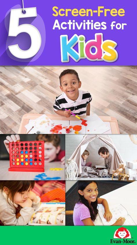 5 Screen-Free Activities for Kids