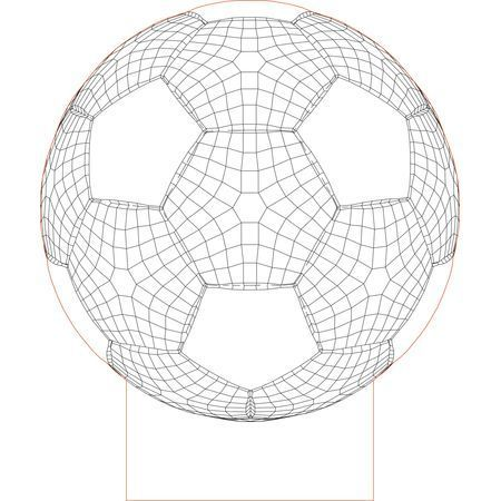 Cnc And Jigsaw Router Ball 2 3d Illusion Vector File Download Now In 2020 3d Illusion Lamp 3d Illusions Illusions