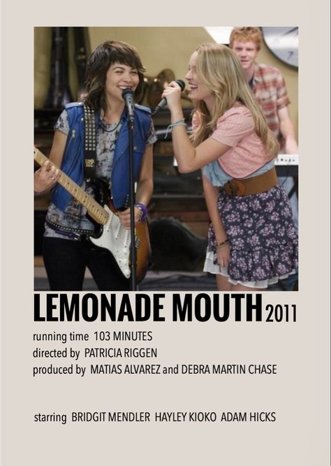 Lemonade mouth by Millie