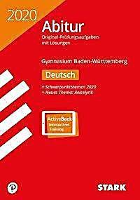 Abitur 2020 Baden Wurttemberg Deutsch Ausgabe Mit Activebook Kartoniert Tb Buch In 2020 Abitur Gymnasium Und Mathematik
