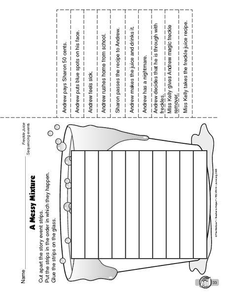 worksheet. Freckle Juice Worksheets. Grass Fedjp Worksheet Study Site