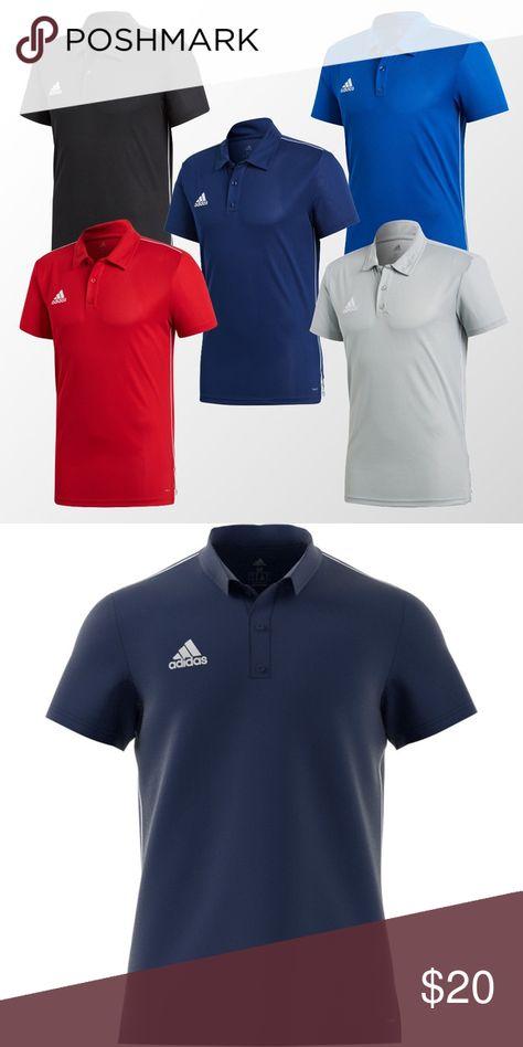 adidas Core 18 ClimaLite Poloshirt Blue