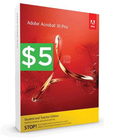 Buy Adobe Acrobat Xi Pro Student And Teacher Edition With Bitcoin