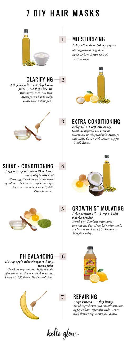 Beat Summer Hair Woes With These 7 DIY Mask Recipes