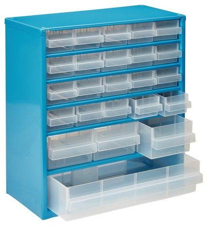 Casier Organiseur Metallique 24 Tiroirs Mac Allister Casier Rangement Rangement Plastique Tiroir