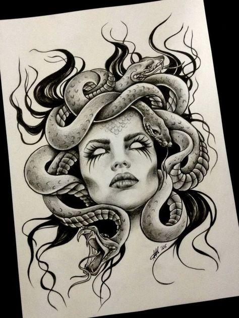 Eye catching tattoo sketches design ideas 10 | Wagepon Ideas