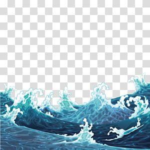 Big Wave Illustration Illustration Waves Are Raging Transparent Background Png Clipart Wave Illustration Waves Cartoon Ocean Illustration Waves