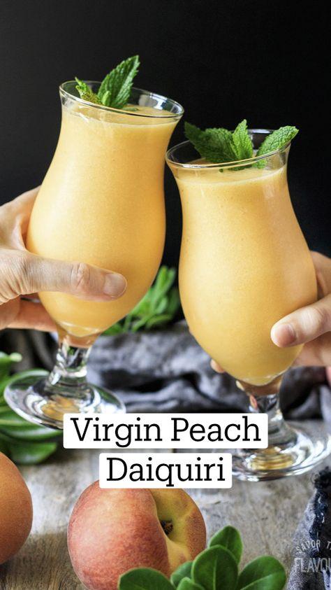 Virgin Peach Daiquiri