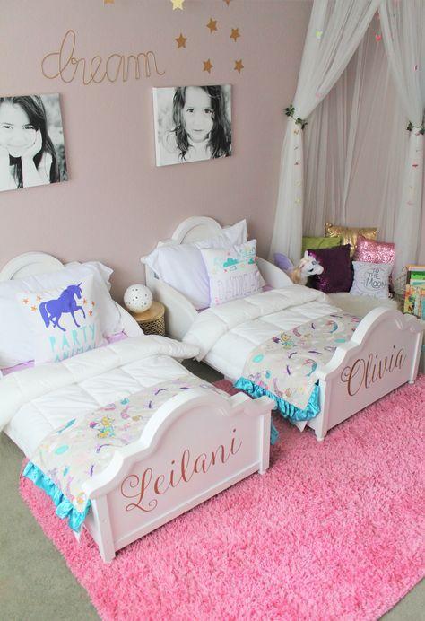 The Land Of Make Believe Shared Girls Room Girl Room Toddler