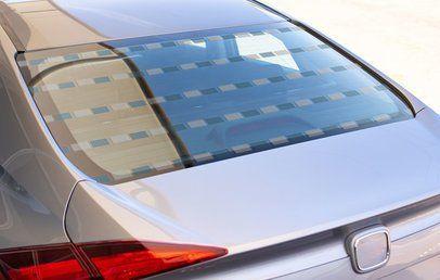 Rear window mockup