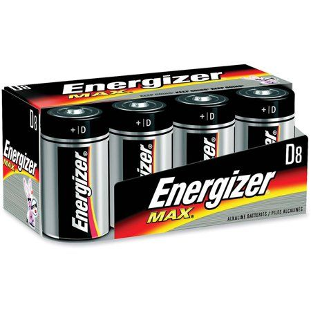 ENERGIZER D 2-Count  EVEREADY Alkaline Battery