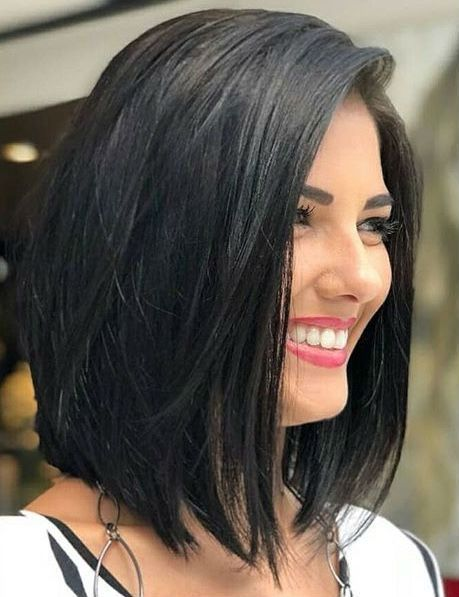 Most Inspiring Shoulder Length Bob Hairstyles 2019 To Get Unique Stylish Look Hair And Comb Thick Hair Styles Medium Length Hair Styles Long Bob Haircuts