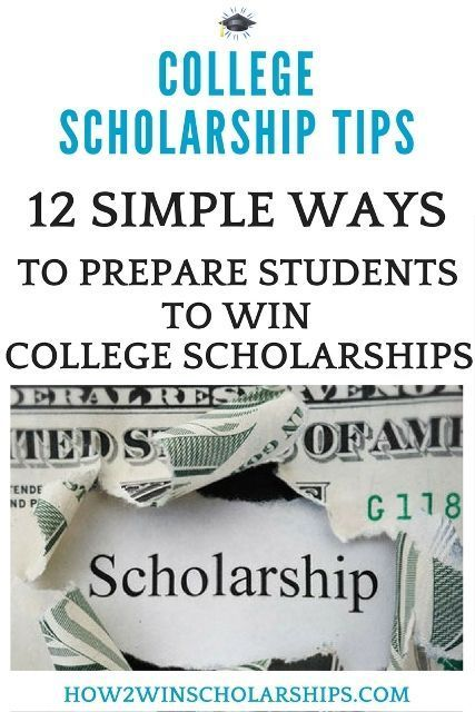12 Simple Ways to Prepare a Student to Win College Scholarships