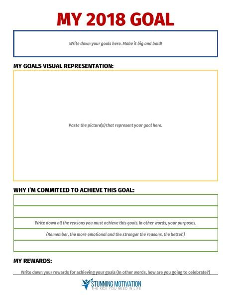 11 Effective Goal Setting Templates For You Goal Setting