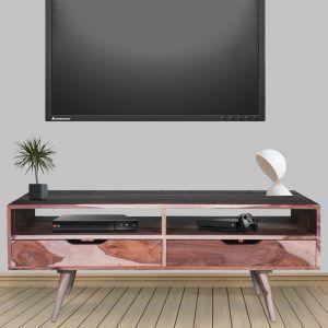 Tv Lowboard Regal Sheesham Massivholz Mobel Mittel Tv Lowboard