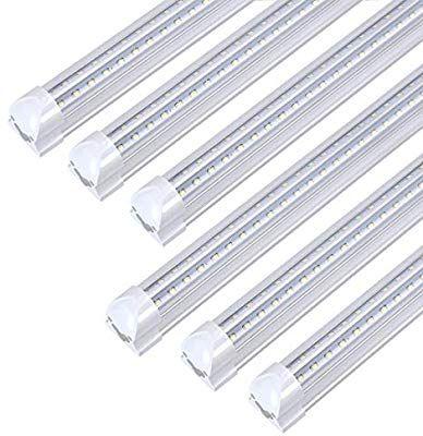 8ft Led Light Fixtures 72w 8ft Led Shop Light 5000k Daylight