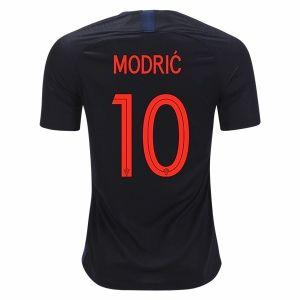 huge discount ac56d 6f418 2018 World Cup Jersey Croatia Away Modric Replica Black ...