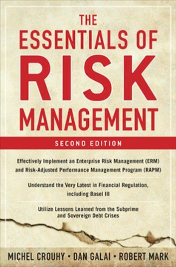 The Essentials Of Risk Management Second Edition Ebook By Michel Crouhy Rakuten Kobo Risk Management Finance Investment Management Books