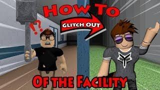 How To Glitch Out Of The Facility Roblox Flee The Facility
