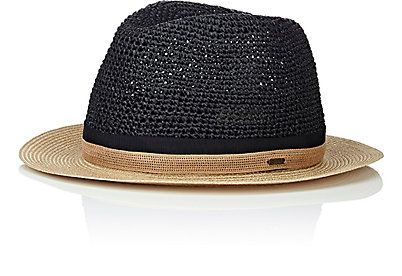 a5a93604f23d4 Fatima Straw Fedora straw fedora hat with brown strap around bass Goorin  Bros Accessories Hats