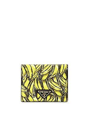 b9ead4f8 I just want this so I can say my new wallet is bananas. Prada Banana ...