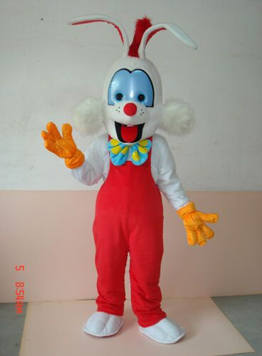 Customade Roger Rabbit Cosplay high quality fancy dress Mascot Costume