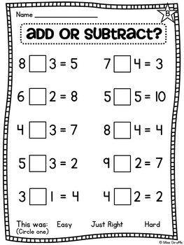 First Grade Math Unit 8   First grade math, 1st grade math ...