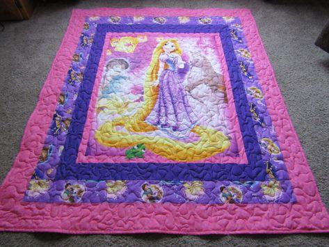 Rapunzel Rapunzel Quilt 40 X 40 Rapunzel Blanket Rapunzel Fascinating Rapunzel Throw Blanket