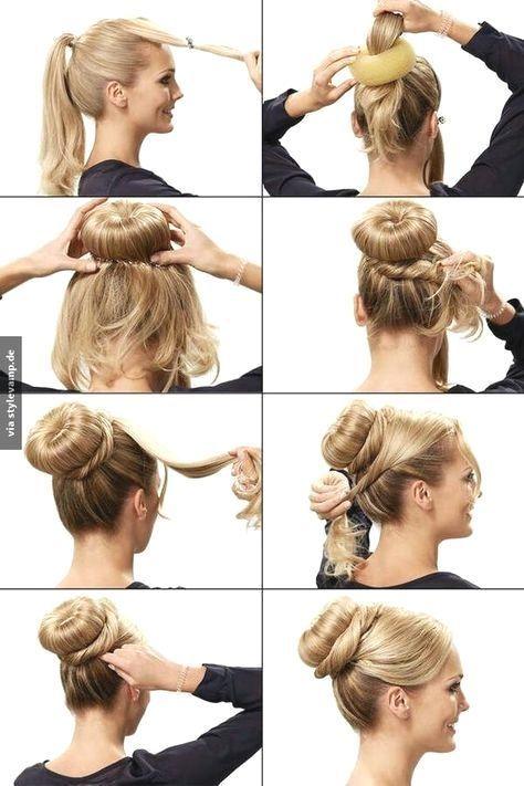 Schnelle Frisuren Zum Umstylen Frisuren Fur Kurze Haare Schnelle Frisur Schnelle Frisure Fast Hairstyles Easy Hairstyles For Long Hair Bun Hairstyles