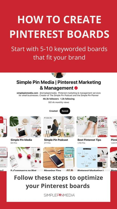 How to Create Pinterest Boards for Your Business
