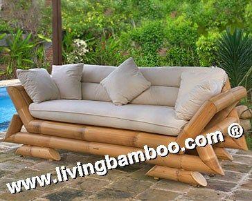 Lotus Bamboo Living Room Set - Buy Sofa Product on Alibaba.com ...