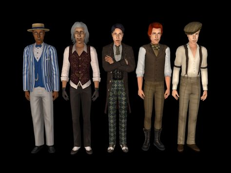 """whattheskell: """" Some makeovers for my Old Timey hood."""