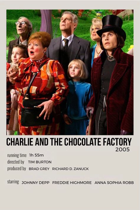charlie & the chocolate factory movie poster