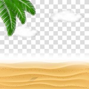 Sand Dunes Sand Euclidean Sea Beach Clouds Transparent Background Png Clipart Clip Art Transparent Background Beach Illustration