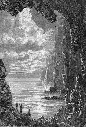 Voyage Au Centre De La Terre Jules Verne Ebook By Jules Verne Rakuten Kobo En 2020 Illustration De La Terre Jules Verne Paysage Fantastique