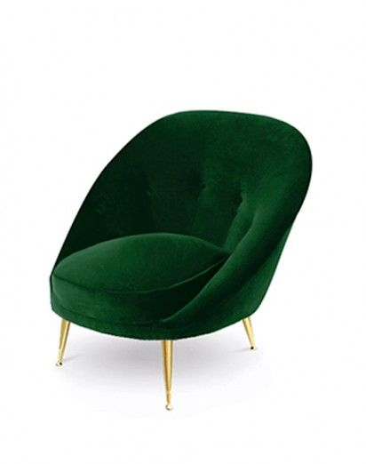 Best Fauteuils Images On Pinterest Chairs Armchairs And - Petit fauteuil vert