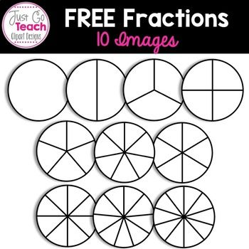 Fraction Circle Clipart Free Clip Art Fractions Fraction Image